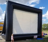 Inflatable Movie Screens and Sound Equipment