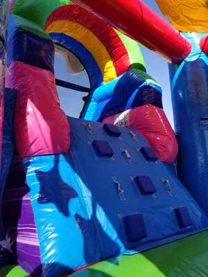 Unicorn Bounce House with Slide Rental DFW Texas