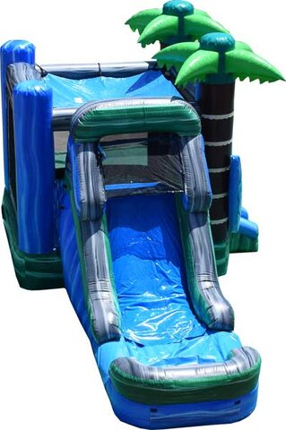 Surf the Wave Bounce House with water slide Rental DFW Texas