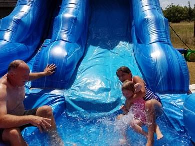 Inflatable Water Slide Rental Fun Inflatable Party Magic LLC