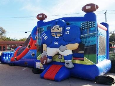 Football 4n1 Bounce House Combo