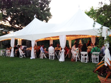 Tent, Table and Chair rentals inflatable party magic DFW Texas