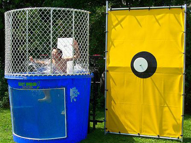 Dunk Tank Rental Inflatable Party Magic Cleburne, Tx