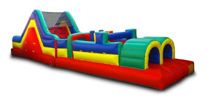 38ft. Obstacle Course Rental Inflatable Party Magic Cleburne, Tx