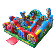 Animal Kingdom Toddler Bounce House Combo Rental