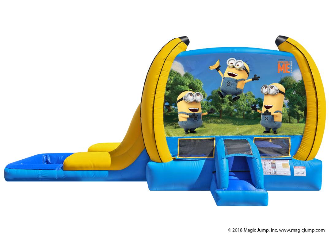Despicable Me Bounce House Combo Rental from Inflatable Party Magic LLC Cleburne, Tx