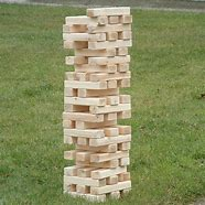 Giant Jenga Game Rental Inflatable Party Magic LLC