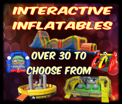 Interactive Inflatable Rentals DFW Texas