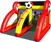 Soccer Fever Inflatable Carnival Game