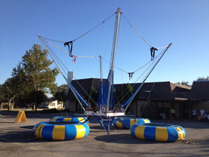 Quad Jumper Euro Bungee Rental Fort Worth Texas