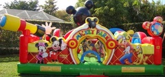 Mickey Toddler Bounce House rental Alvarado, Texas