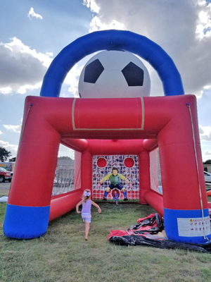 Penalty Kick Soccer Game Rental DFW Texas