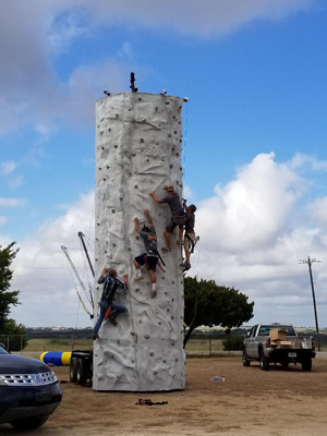 Rock Wall Rental Fort Worth Texas