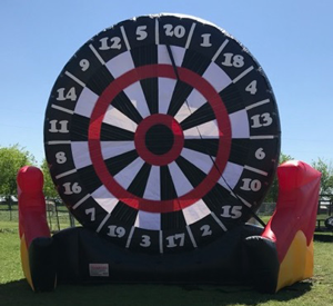 Soccer Dart Inflatable Game Rental from Inflatable Party Magic Cleburne, Tx