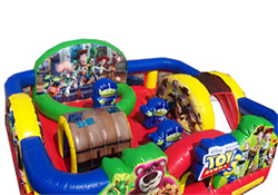 Toy Story bounce house and slide rental