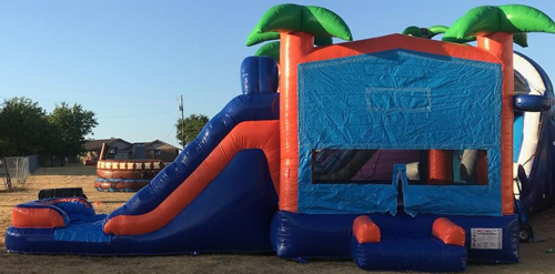 Tropical Oasis 4n1 Bounce House Combo Rental