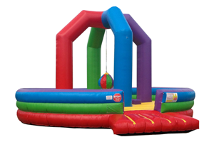 Wacky Demolition Ball Inflatable Game Rental from Inflatable Party Magic LLC Cleburne, Texas