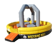 Picture of Wrecking Ball Inflatable Game Rental from Inflatable Party Magic LLC Cleburne, Tx.