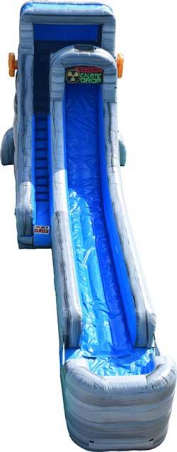 20 ft. Caustic Water Slide Rental Burleson, Texas