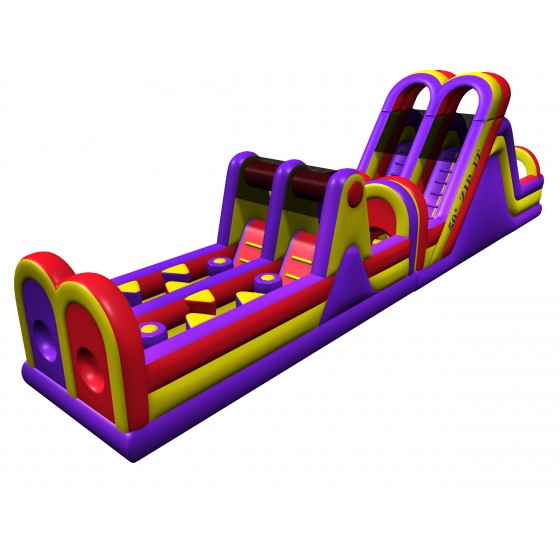 50 ft. Obstacle Course Rental