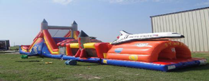 Space Shuttle Obstacle Course Rental
