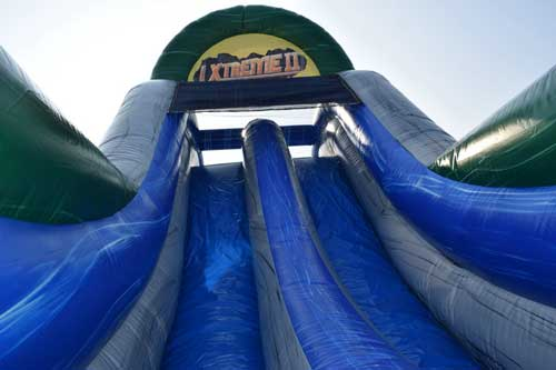 Tropical Themed Water Obstacle Course Rental Burleson Texas