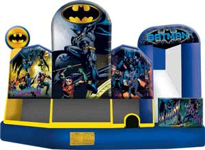Batman 5n1 Bounce House Combo Rental from Inflatable Party Magic LLC Cleburne, Tx