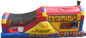 Choo Choo Train 3n1 Dry bounce house combo