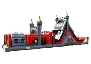 Excalibur  Inflatable Castle Obstacle Course Rental