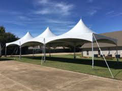 Weatherford Tent and table and chair rentals