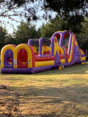 Burleson Obstacle Course Rentals in DFW Texas
