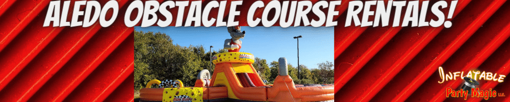Aledo Obstacle Course Rentals near me