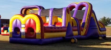 Inflatable Obstacle Course Rentals Alvarado Tx near me