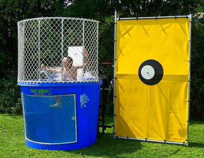 Arlington rent a dunk tank