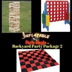 Burleson Backyard Party Package Rental