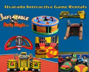 Burleson Inflatable Game Rentals DFW Texas