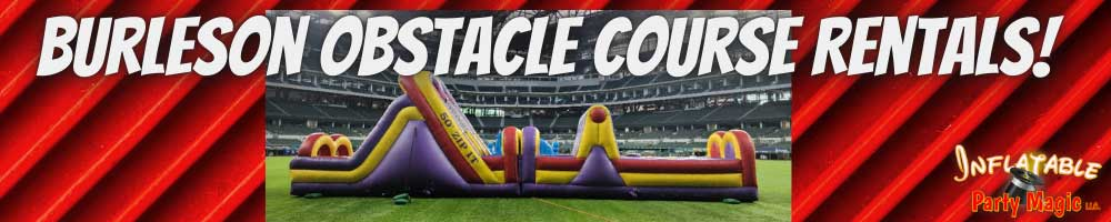 Burleson Obstacle Course Rentals near me