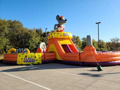 Burleson Inflatable Obstacle Course Rentals near me