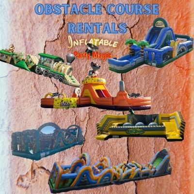Burleson Obstacle Course Rentals Texas