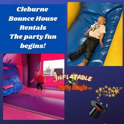 Cleburne Bounce House Rentals near me