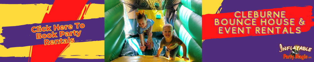 Cleburne Bounce House rentals and water slide rentals Cleburne