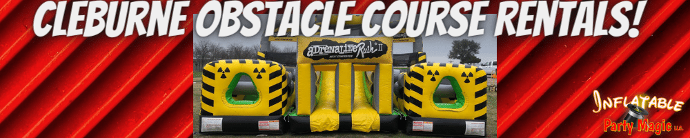 Cleburne Obstacle Course Rentals near me