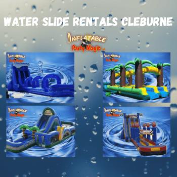 Cleburne Water Slide Rentals