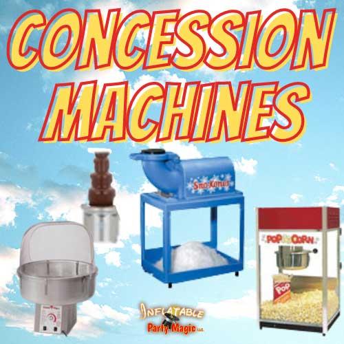 Texas Concession Machine Rentals near me