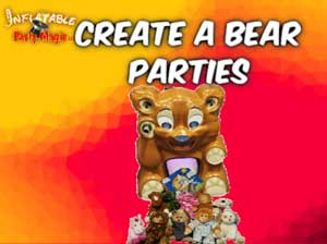 Create a Bear Home Party in Burleson TX