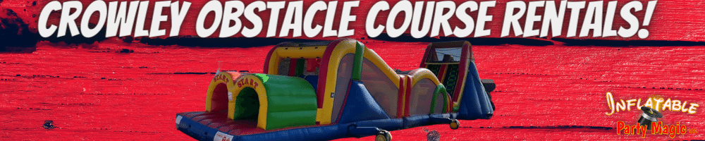 Crowley Obstacle Course Rentals near me
