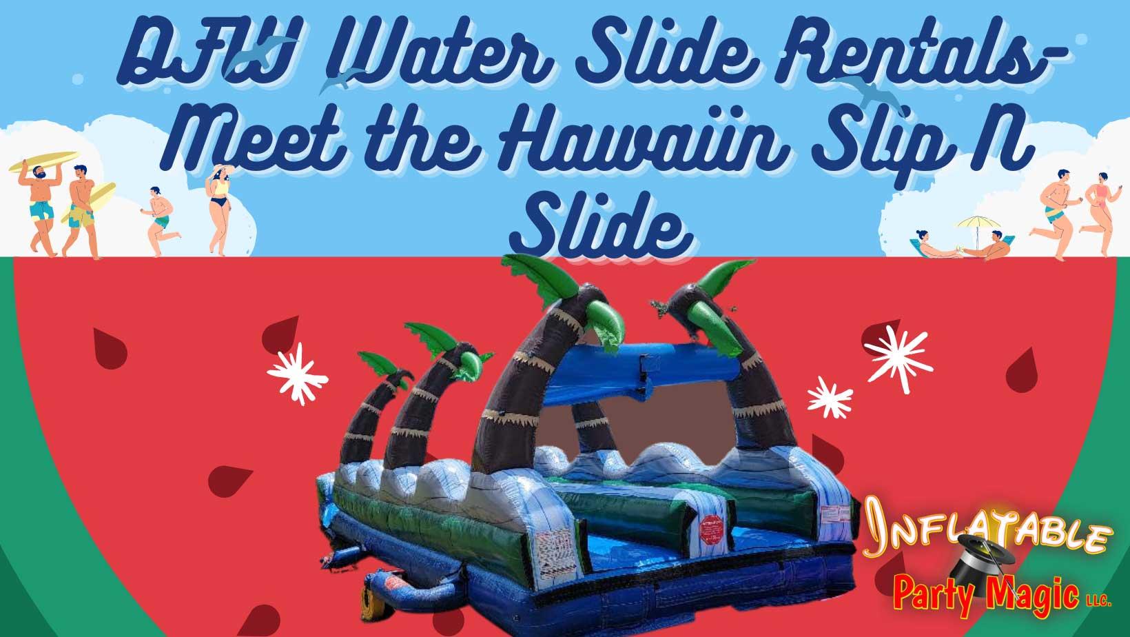 Waxahachie Slip N Slide Water Slide Rental