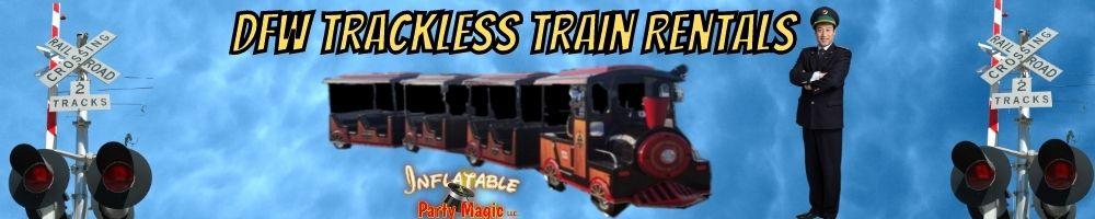 DFW Fort Worth Trackless Train Rentals near me