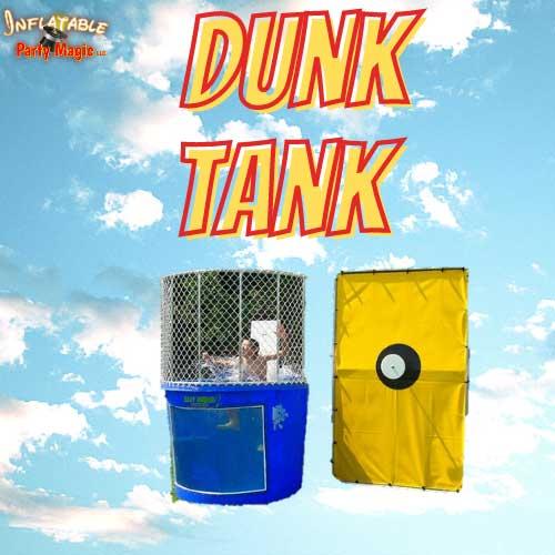Texas DunkTank Rentals Inflatable near me