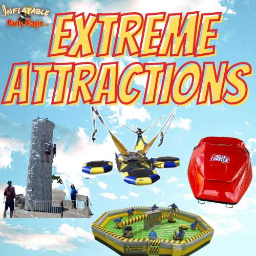 Texas Euro Bungee Trampoline Rentals Inflatable near me